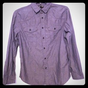 Helix - gray button-down